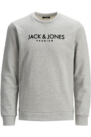Jack & Jones Logotypförsedd Rundringad Sweatshirt Man