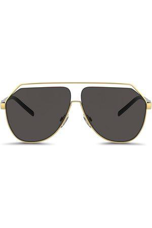 Dolce & Gabbana Man Solglasögon - Gros grain hexagonal sunglasses