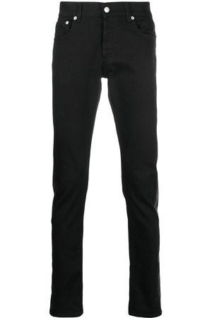 Alexander McQueen Man Straight - Jeans med kontrastpanel