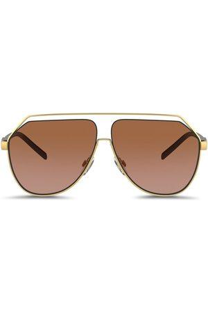 Dolce & Gabbana Eyewear Man Solglasögon - Gros grain hexagonal sunglasses