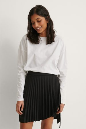 NA-KD Kvinna Minikjolar - Wrap Pleated Mini Skirt