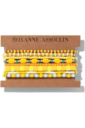 Roxanne Assoulin Color Therapy® Yellow bracelet set