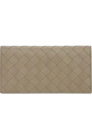 Bottega Veneta Intreccio Leather Continental Wallet