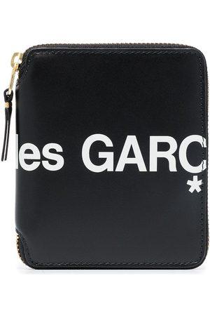 Comme des Garçons Plånbok med dragkedja och logotyp