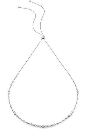 De Beers Kvinna Halsband - Arpeggia choker och hårband i 18K vitguld med diamant