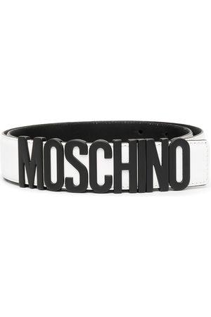 Moschino Bälte med logotypplakett