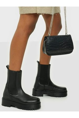 NLY Shoes Clean Ankle Boot Flat Boots