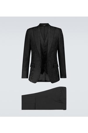 Dolce & Gabbana Exclusive to Mytheresa – jacquard single-breasted suit