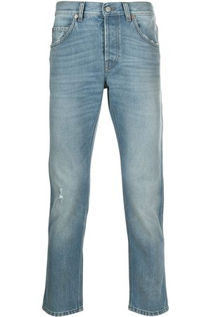 Gucci Man Jeans - Eco-bleached tapered jeans