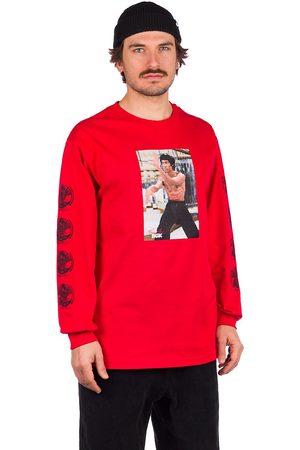 DGK X Bruce Lee Like Echo Long Sleeve T-Shirt red