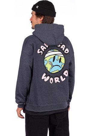 A.Lab Sad World Hoodie grey