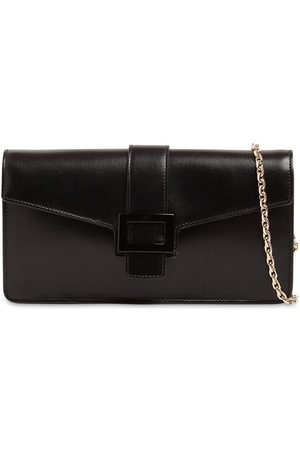 Roger Vivier Viv Leather Clutch