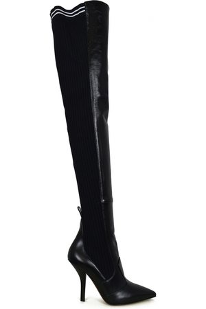Fendi Stretch leather over-the-knee boots