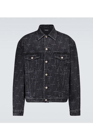 Balenciaga Man Jeansjackor - Large fit denim jacket