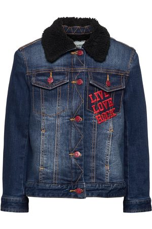 Zadig & Voltaire Barn Jeansjackor - Denim Jacket Outerwear Jackets & Coats Denim & Corduroy Blå