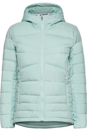 Salomon Kvinna Dunjackor - Transition Down Hoodie W Outerwear Sport Jackets