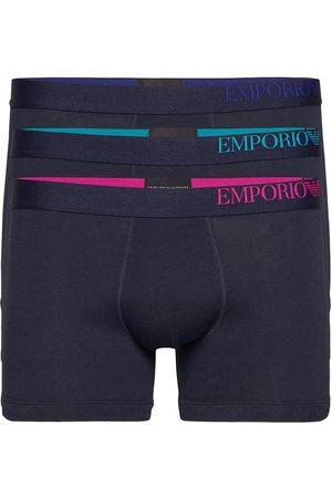 Emporio Armani Man Kalsonger - Men'S Knit 3-Pack Boxershorts Boxerkalsonger