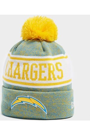 New Era NFL Los Angeles Chargers Pom Beanie Hat - Only at JD