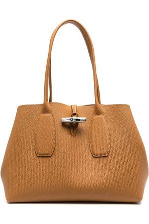 Longchamp Roseau totebag i shoppingmodell