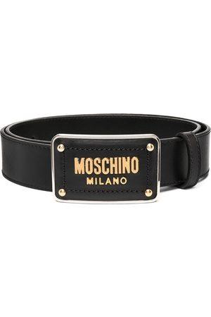 Moschino Bälte med spänne i emalj