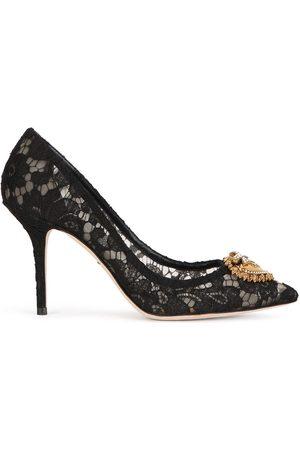 Dolce & Gabbana Utsmyckade spetspumps