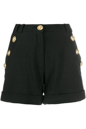 Balmain Shorts med logotypknapp