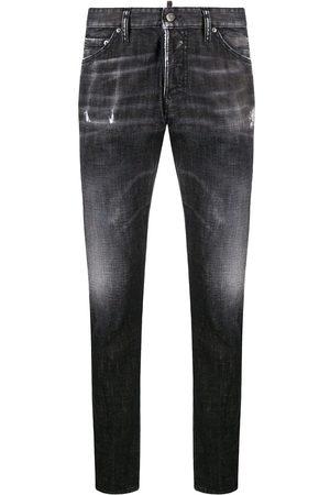 Dsquared2 Smala jeans med slitning