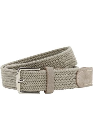 Loro Piana Man Bälten - 3.5cm Sea-weave Cotton Belt
