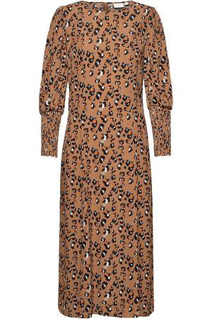 Vila Kvinna Festklänningar - Vikittie L/S Midi Dress/Pb Maxiklänning Festklänning
