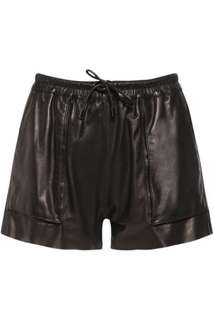Tom Ford Leather Mini Shorts