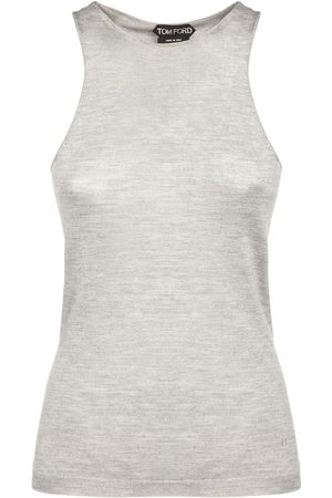 Tom Ford Cashmere & Silk Knit Tank Top