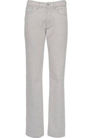Maison Margiela Raw Bull Cotton Denim Jeans