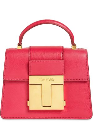Tom Ford Mini Leather Top Handle Bag