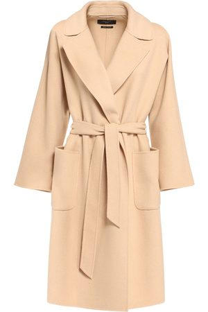 Max Mara Belted Double Wool Coat