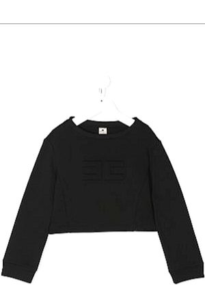 Elisabetta Franchi Short Logo Sweatshirt