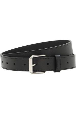 COMME DES GARÇONS WALLET 3cm Classic Leather Belt