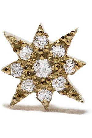 Feidt Paris Bo Soleil stiftörhänge i 18K gult med diamant