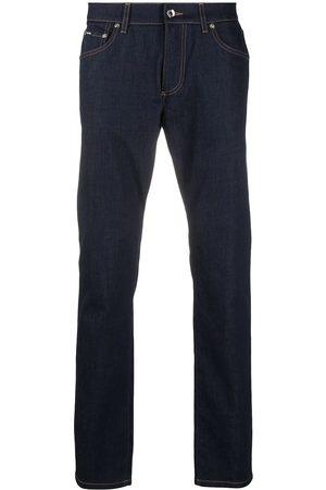 Dolce & Gabbana Slim fit-jeans med präglad logotyp