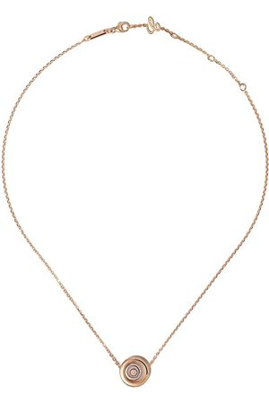 Chopard Happy Spirit diamanthalsband i 18K rosé- och vitguld