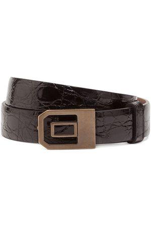 Dolce & Gabbana Skrynklat bälte med spänne