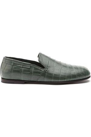 Dolce & Gabbana Man Loafers - Loafers med krokodileffekt