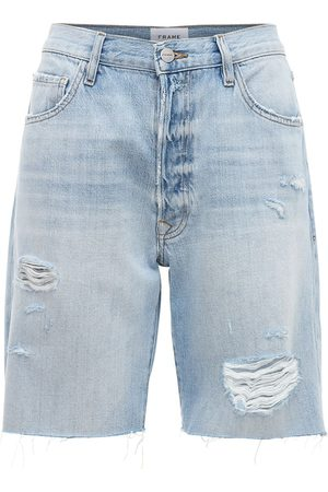 Frame Kvinna Shorts - Le Slouch Bermuda Cutoff Short Shorts