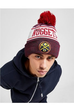 New Era NBA Denver Nuggets Pom Beanie Hat - Only at JD