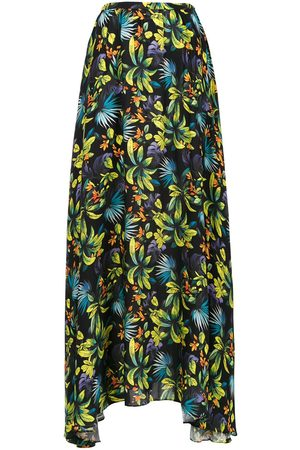 AMIR SLAMA Printed long skirt