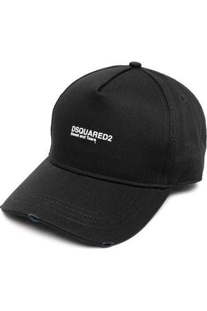 Dsquared2 Basebollkeps med broderad logotyp