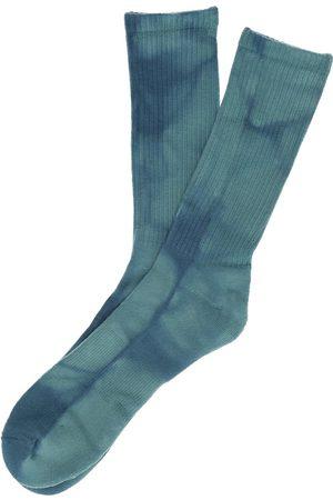 Zine Pair Socks blue tie dye