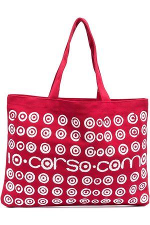 10 CORSO COMO Spiral logo print tote bag
