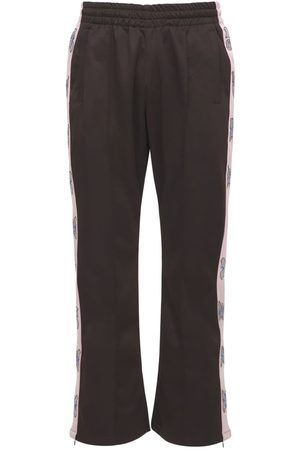 MAISON EMERALD Butterfly Embellished Track Pants
