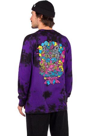 Killer Acid Man Långärmade - Chesire OG Long Sleeve T-Shirt deep purple tie dye