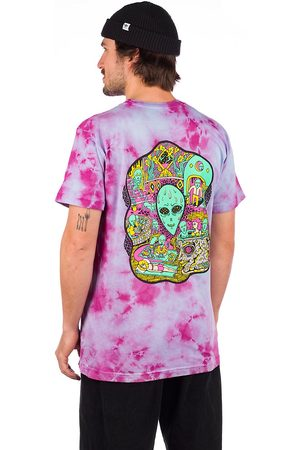Killer Acid No Bad Trips T-Shirt purple/blue tie dye